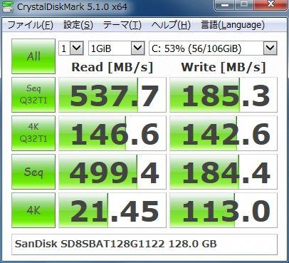 SanDisk SD8SBAT128G1122 128.0GB