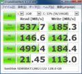 [CrystalDiskMark]SanDisk SD8SBAT128G1122 128.0GB