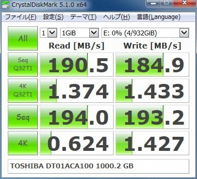TOSHIBA DT01ACA100 1000.2GB