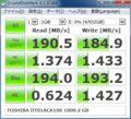 [CrystalDiskMark]TOSHIBA DT01ACA100 1000.2GB