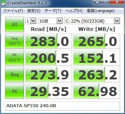 ADATA SP550 240.0GB