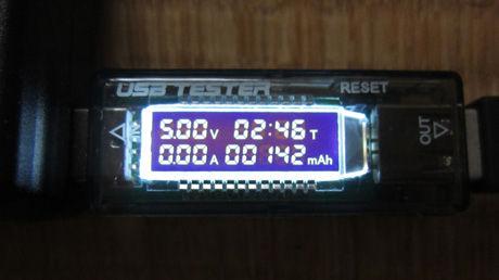 AC100V充電器と接続