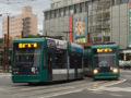 [広島電鉄5000形電車]5011号車(左)/5002号車(右)