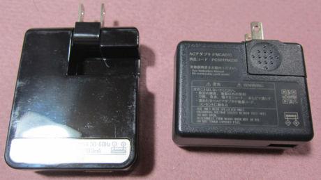 本体(左)とFMCAD1(右)