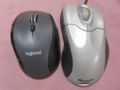 M705m と IntelliMouse Explorer 4.0 USB/PS2 Compatible
