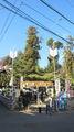 邇保姫神社 参道