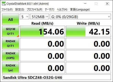 CrystalDiskMark 8.0.1 x64  USB3.0 SDCZ48-032G-U46