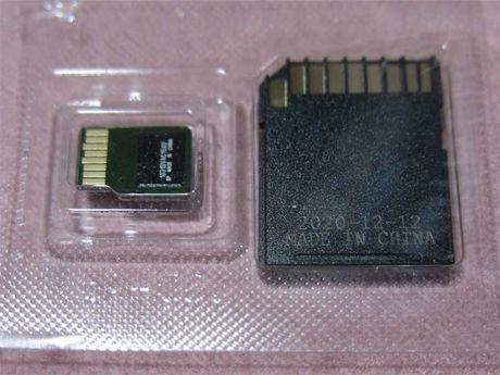 microSDXCカード SDSQQNR-128G-GN6IA 裏