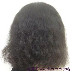 スティーブンノルフォームコントロールのシャンプーコンディショナーを使った後の髪