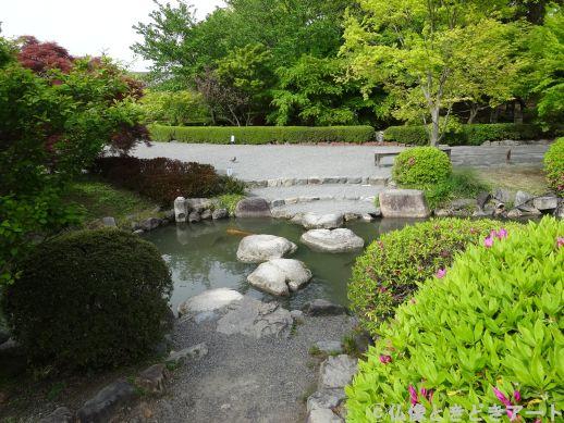 東寺境内の瓢箪池の画像