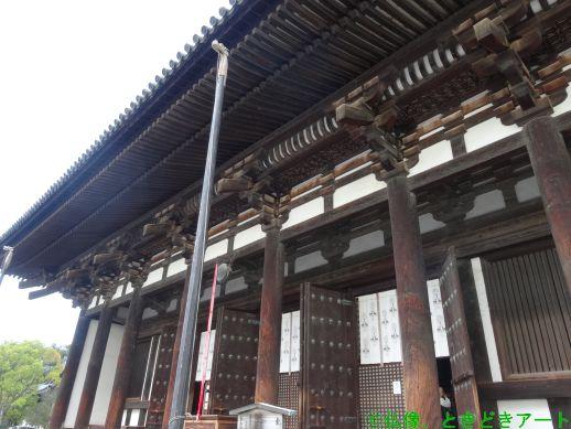 興福寺の東金堂の画像
