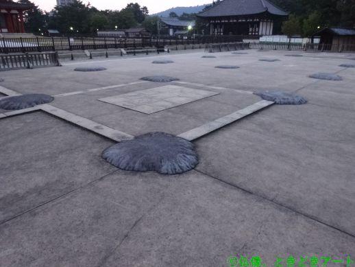 興福寺の南大門の跡地の画像
