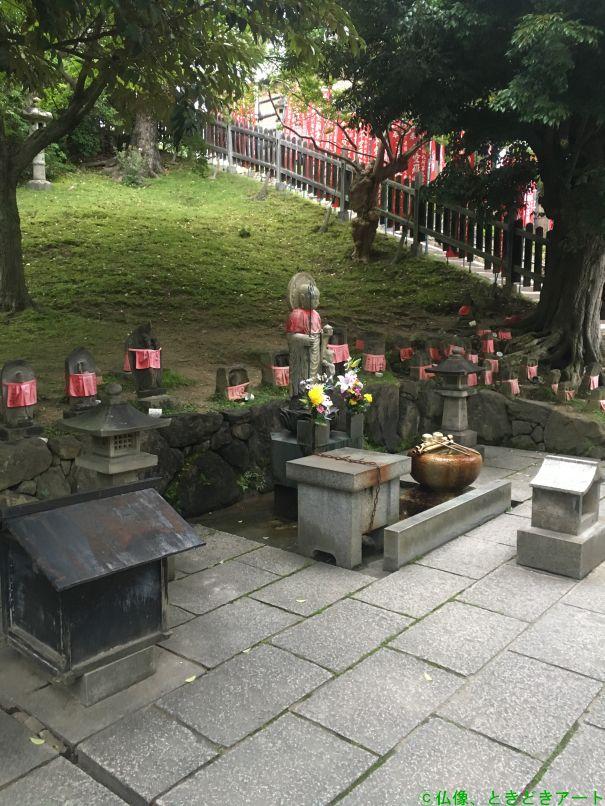興福寺の延命地蔵を撮影した画像