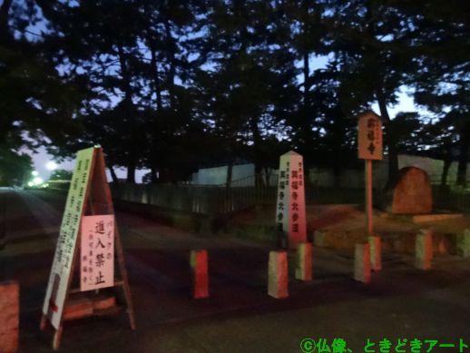 興福寺の北参道を撮影した画像
