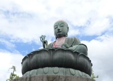 善光寺参道で撮影した延命地蔵の画像
