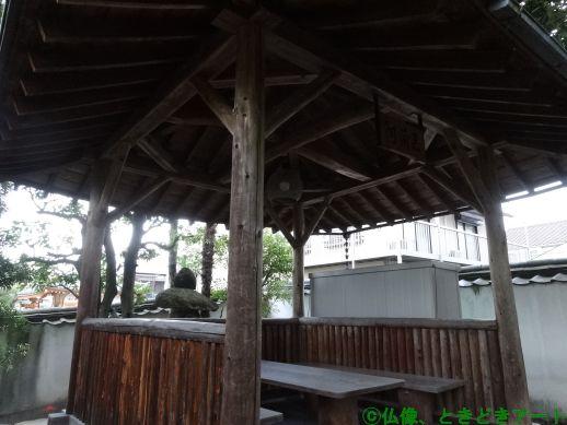 十輪院境内の休憩所を撮影した画像