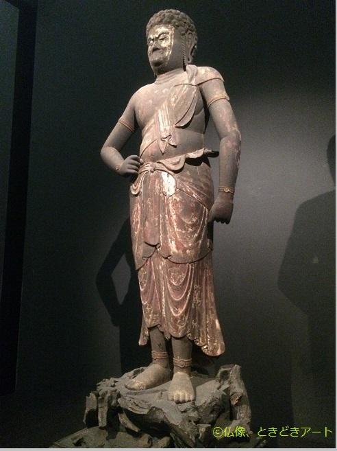 不動明王像を撮影した画像