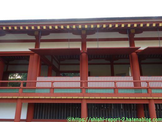 奈良時代の建造物(復元)の戸