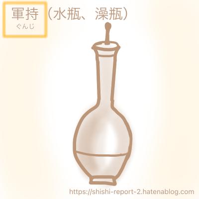 水瓶のイラスト