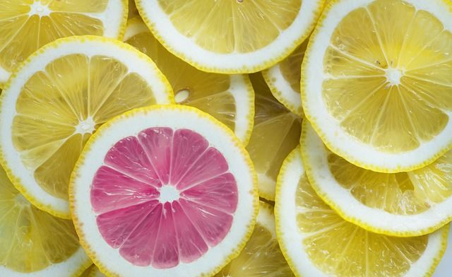 レモンスライス-ビタミンのイメージ