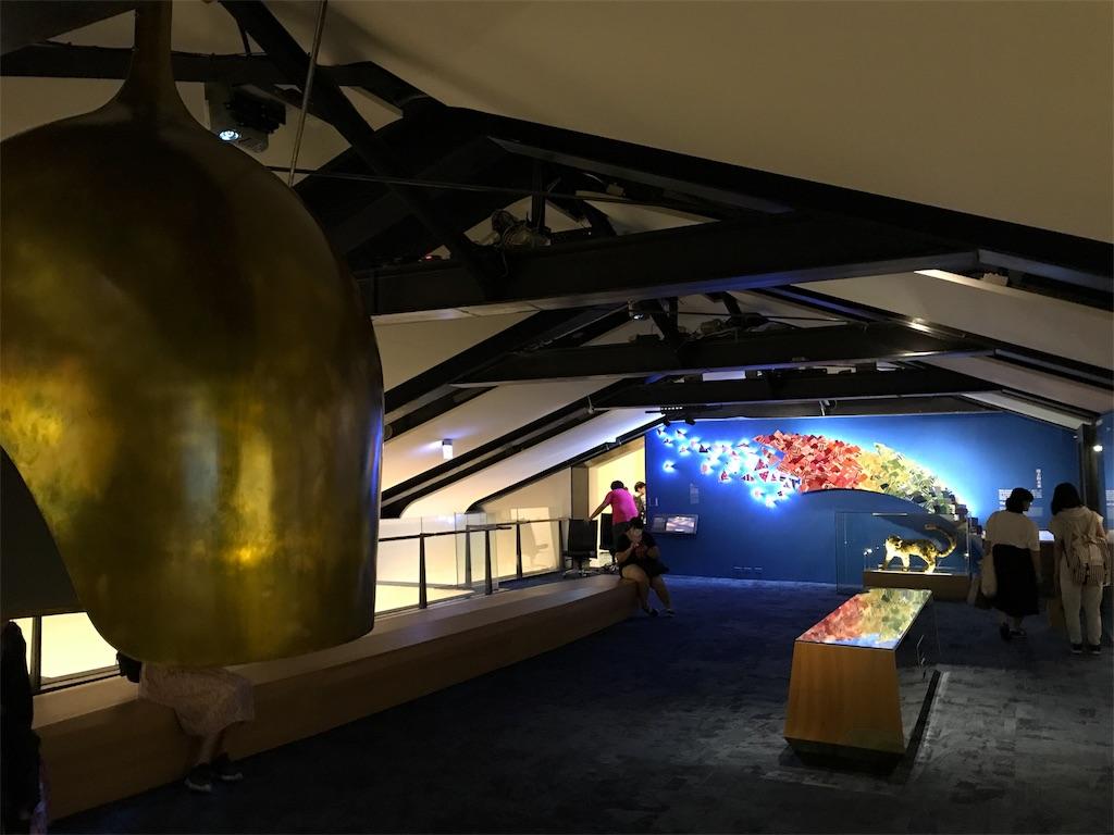 台湾国立博物館の最上階(先住民)