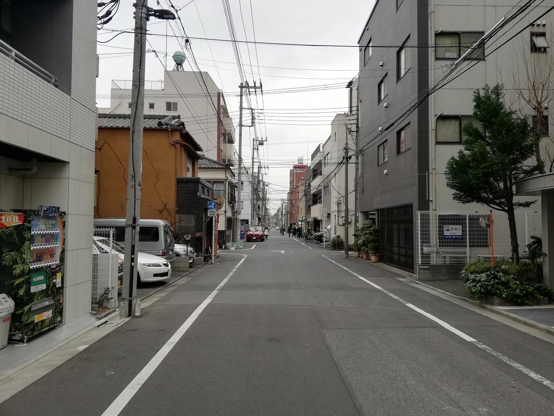 墨田区本所の住宅街