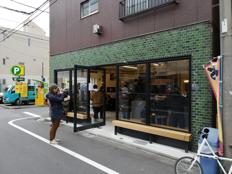 本所にできた新店舗(LEAVES COFFEE ROASTERS)