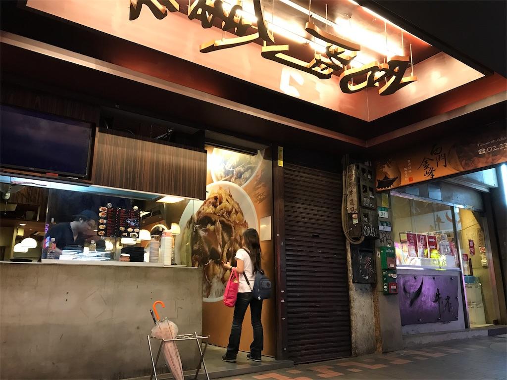 西門金鋒魯肉飯の店舗