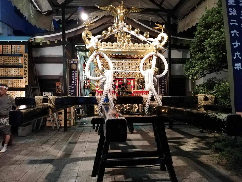 本社神輿(千貫神輿)