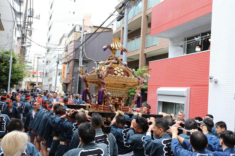 町会神輿渡御