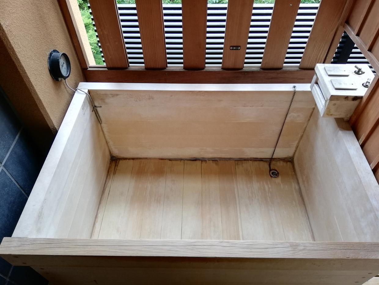 部屋付のお風呂