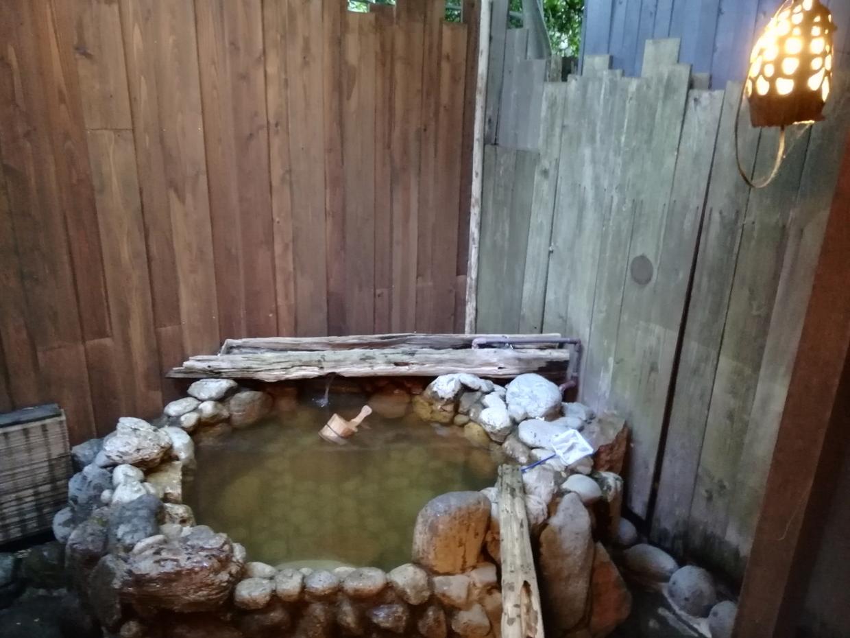 貸切露天風呂「満天」