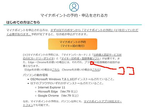 マイキーID作成・登録準備ソフト
