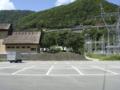 裏側にある第2駐車場