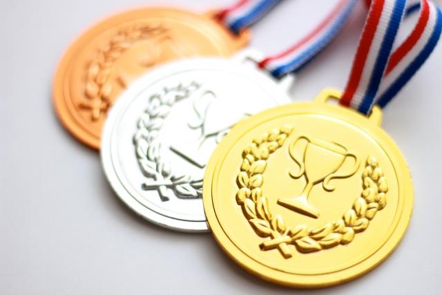 金・銀・銅メダル