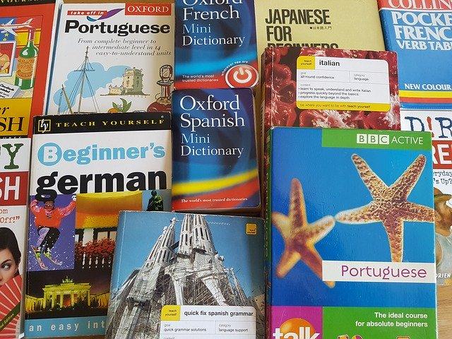世界の語学学習書