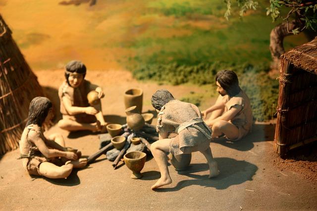 古代の人々の暮らし