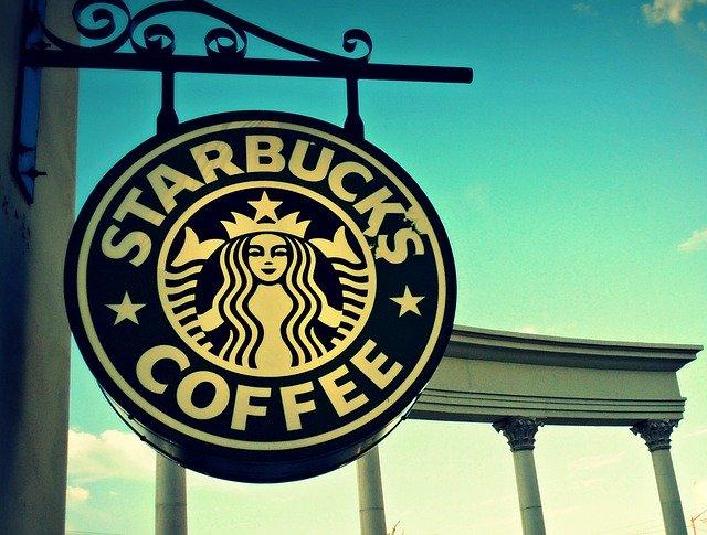 スターバックコーヒー看板