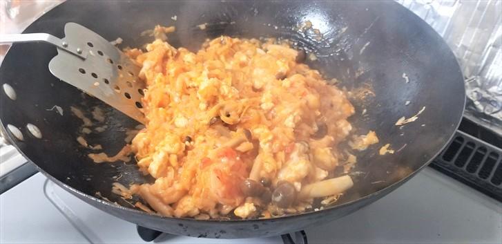 【糖質制限ダイエット】【お米の代わり】カニトマトクリームを使ったアレンジメニュー #005レシピ