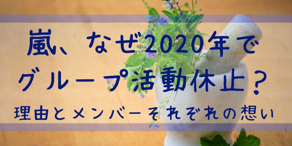 嵐 活動休止 大野智 なぜ 理由 本当の 2020 5×20 解散 二宮和也 相葉雅紀 櫻井翔 松本潤