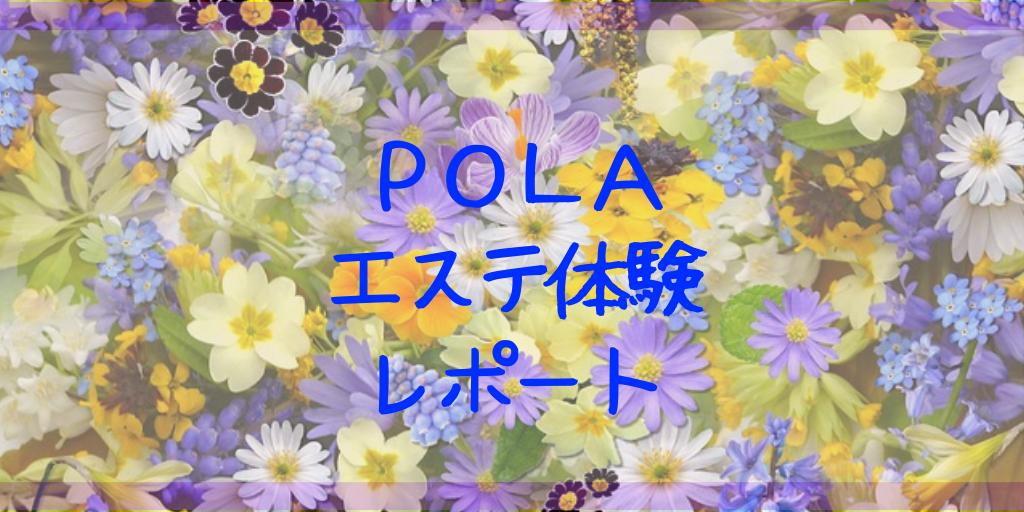 POLAの体験エステに行ってきた 体験レポ&おすすめポイント ポーラ