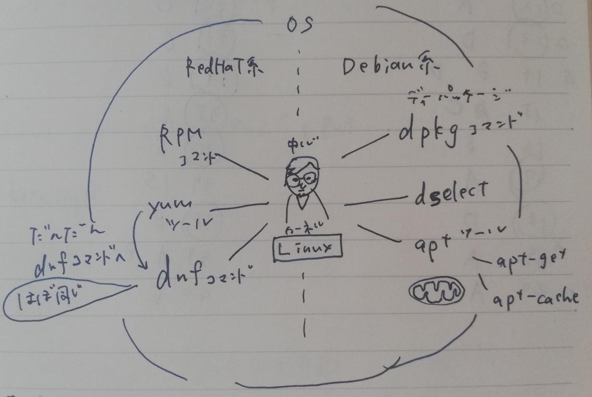 OS・カーネル・dpkg・RPT まとめてどんな関係なの LPIC101、2週間で合格!戦略的勉強方法と振り返り【level1受験記録】