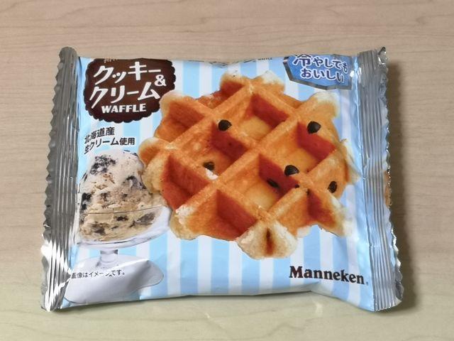 クッキー&クリームワッフル