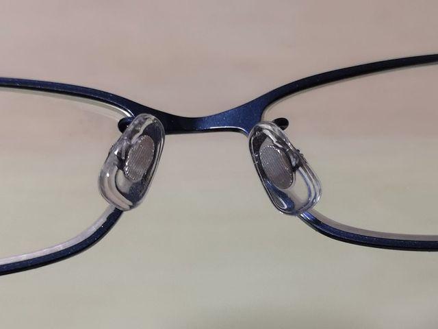 眼鏡市場で鼻パッドの無料交換
