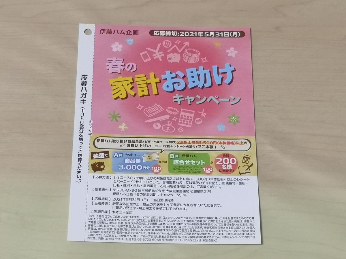 ヤオコー×伊藤ハム 春の家計お助けキャンペーン