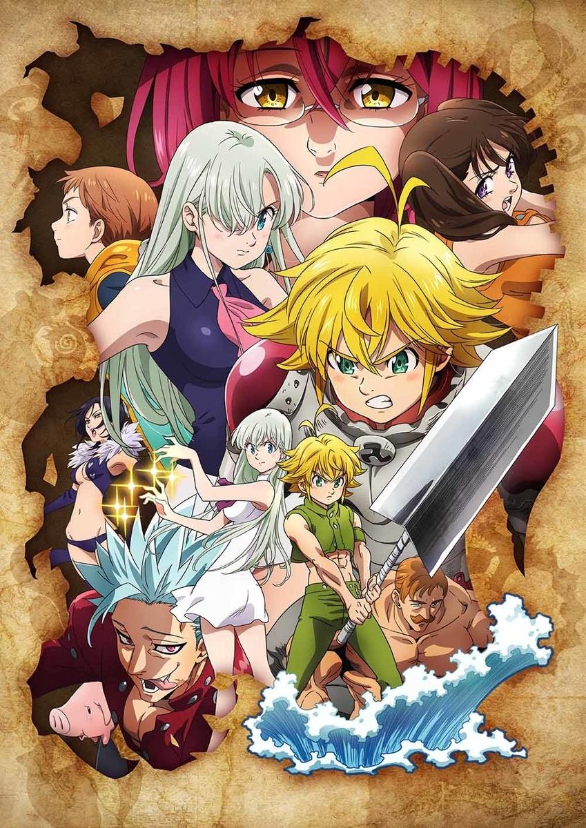 Tvアニメ 七つの大罪 神々の逆鱗 放送情報発表 週マガ公式サイト