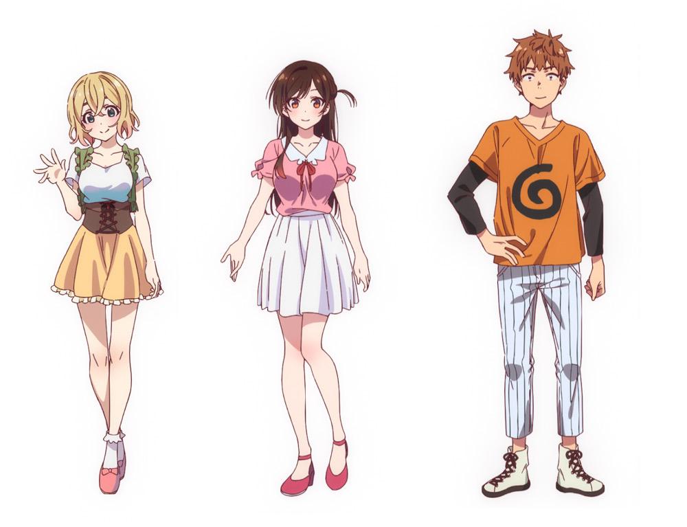 【アニメ】「週刊少年マガジン」にて連載中の『彼女、お借りします』2020年7月にTVアニメ化。