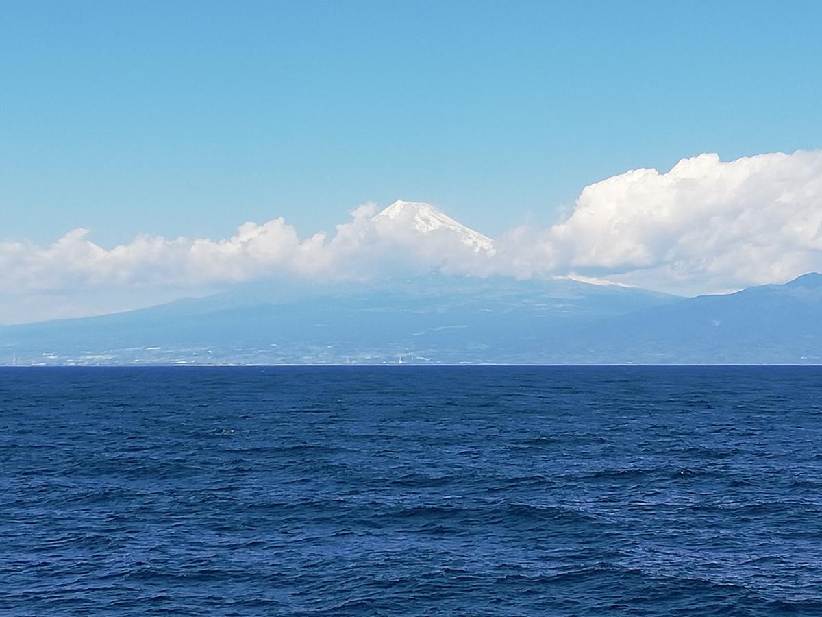 駿河湾より富士山