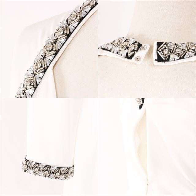 ビジュー装飾ドレープロングワンピース 結婚式 二次会 お呼ばれドレス 上品