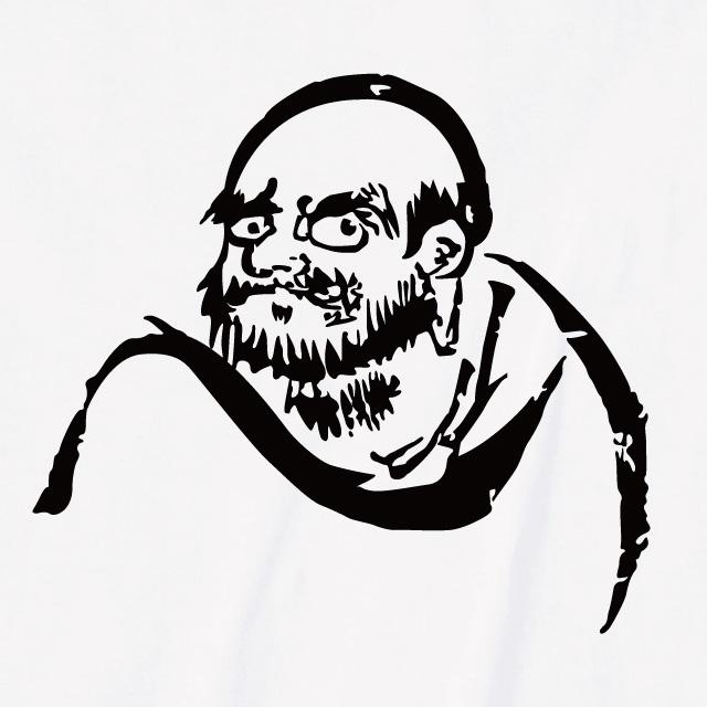 達磨大師 プリントTシャツ オリジナル 個性